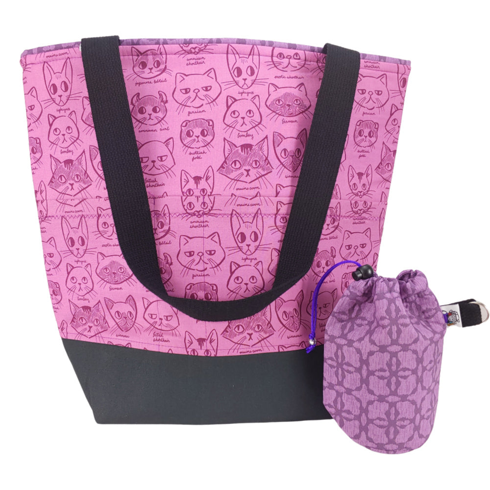 Fancy Feast </br> XL Project Bag </br> Studio Tote & Tot