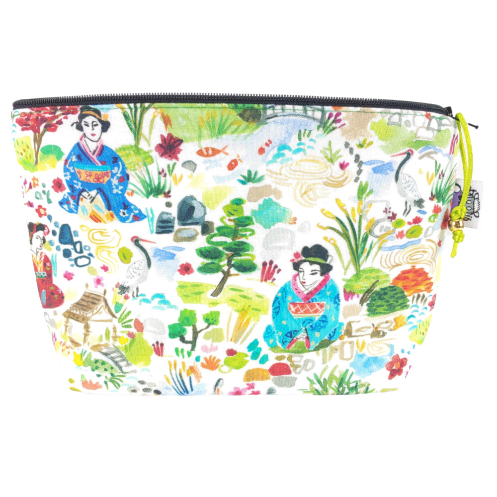 Kyoto Garden </br> Zipper Notion Pouch