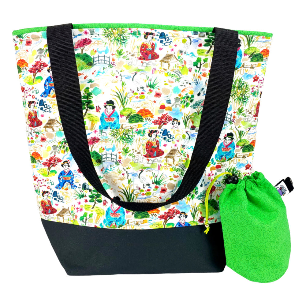 Kyoto Garden </br> XL Project Bag </br> Studio Tote & Tot