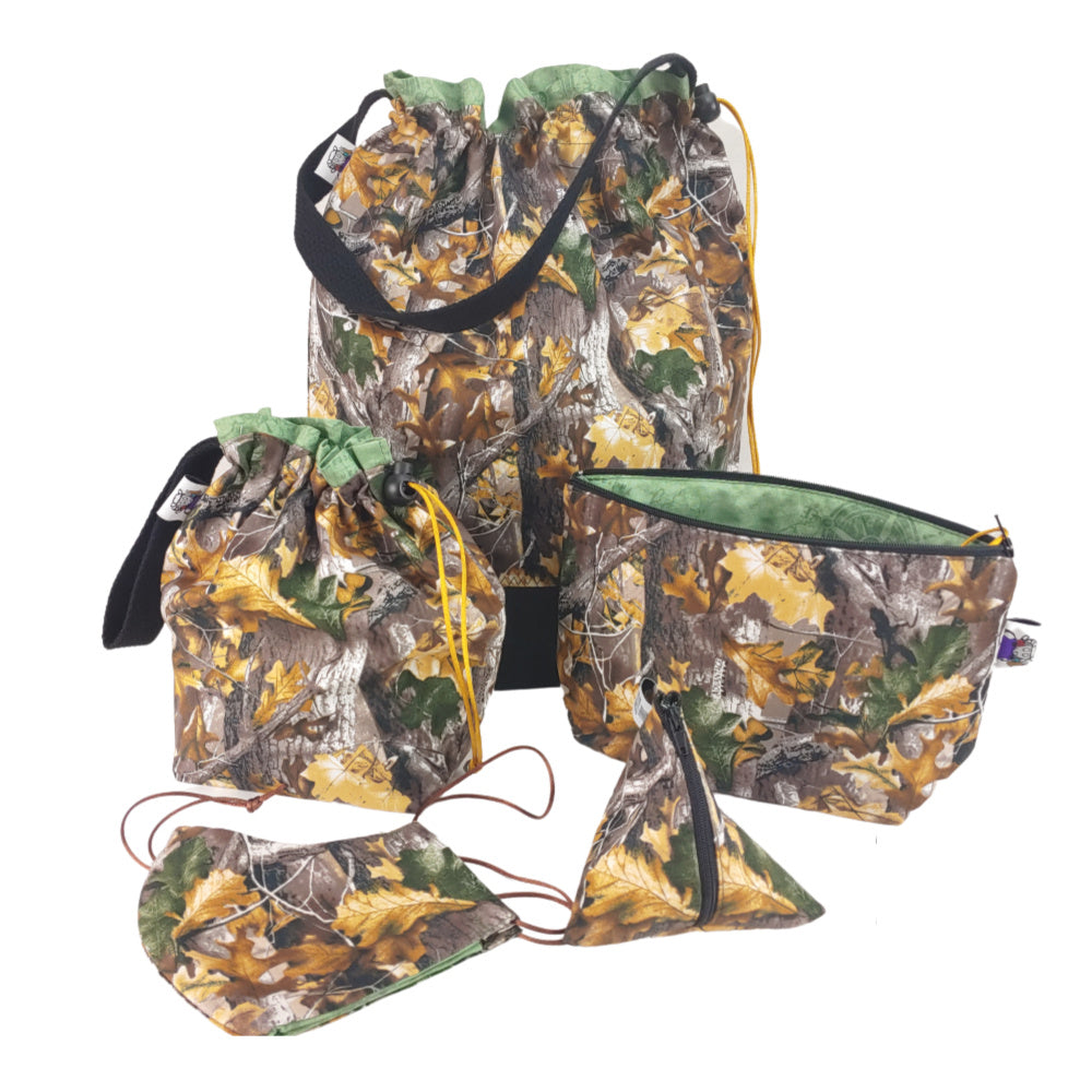 Camouflage </br> Zipper Notion Pouch