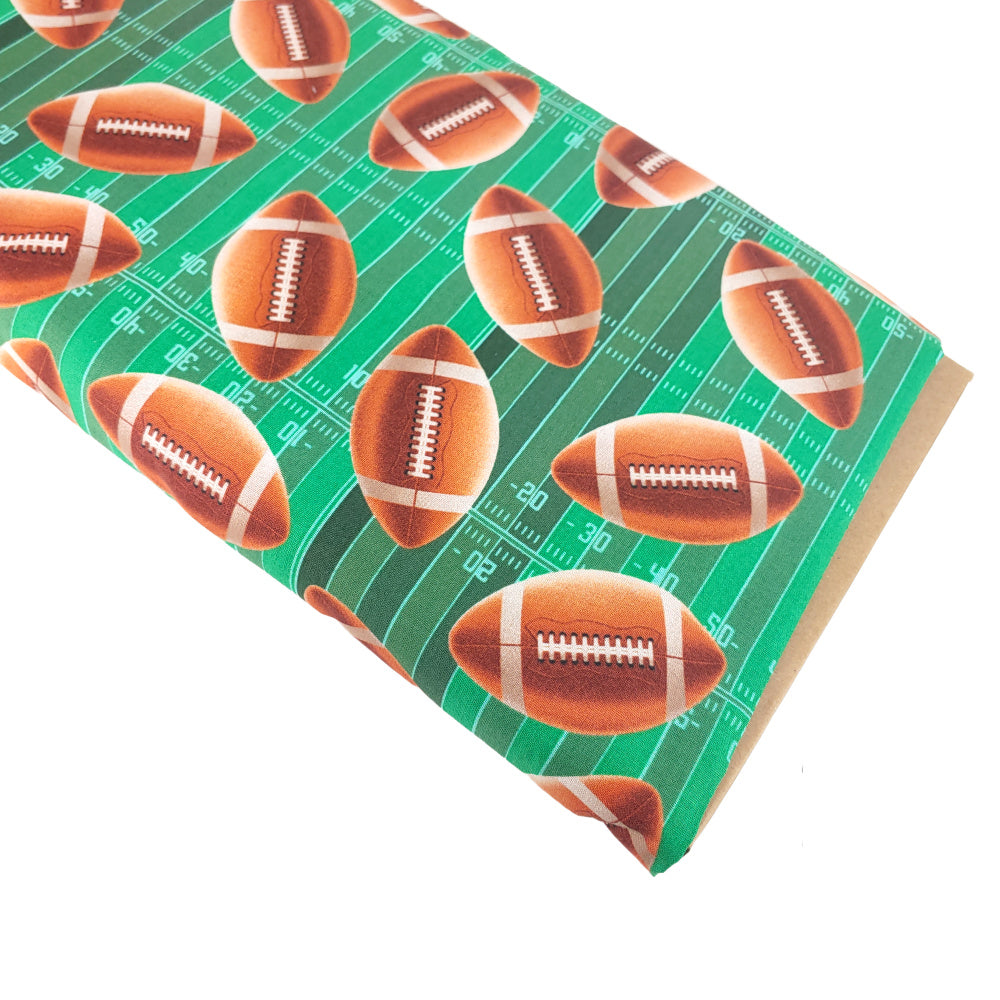 Football </br> Designer Fabric - By the Yard