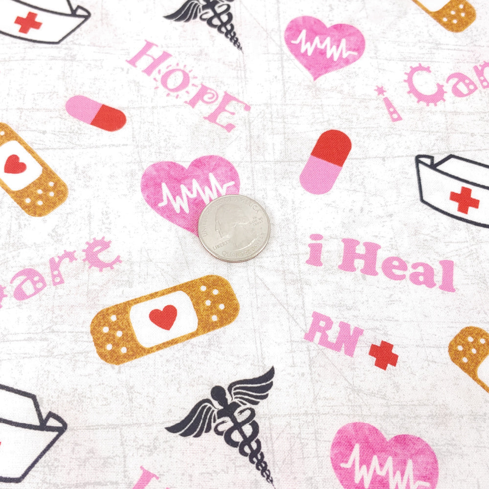 Super Special Nurses </br> Designer Fabric - By the Yard