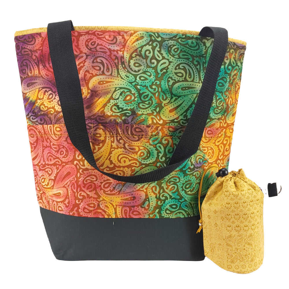 Paisley Batik </br> XL Project Bag </br> Studio Tote & Tot