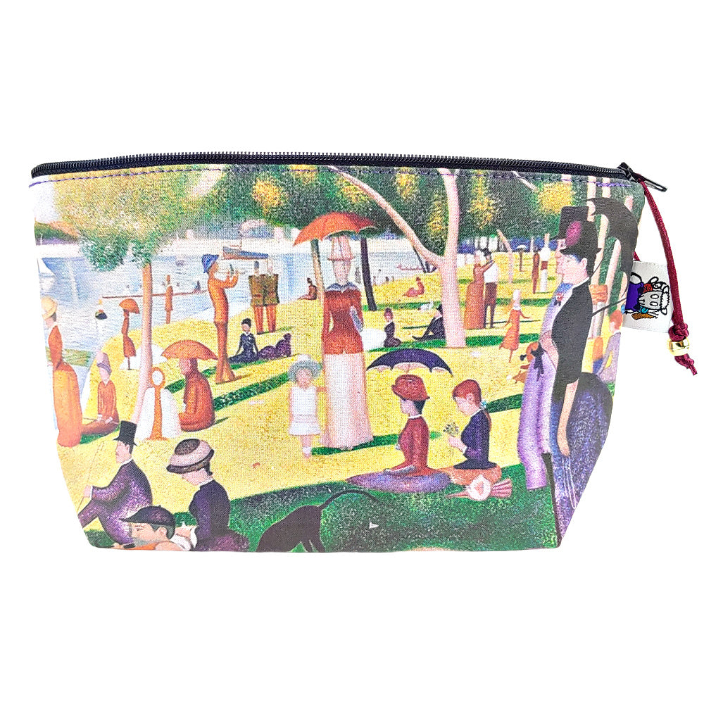 A Sunday Afternoon on the Island of La Grande Jatte </br> Zipper Notion Pouch