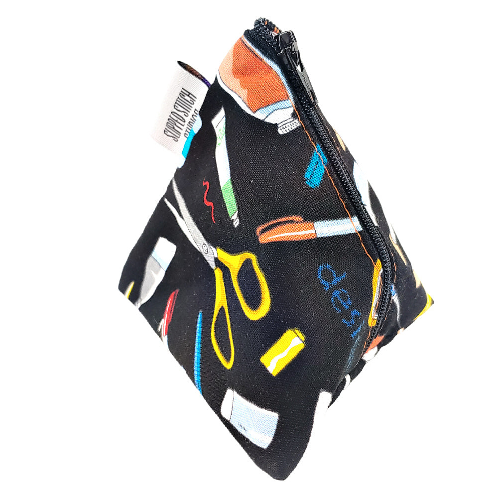 Artist's Tools </br> Triangle Zipper Notion Pouch