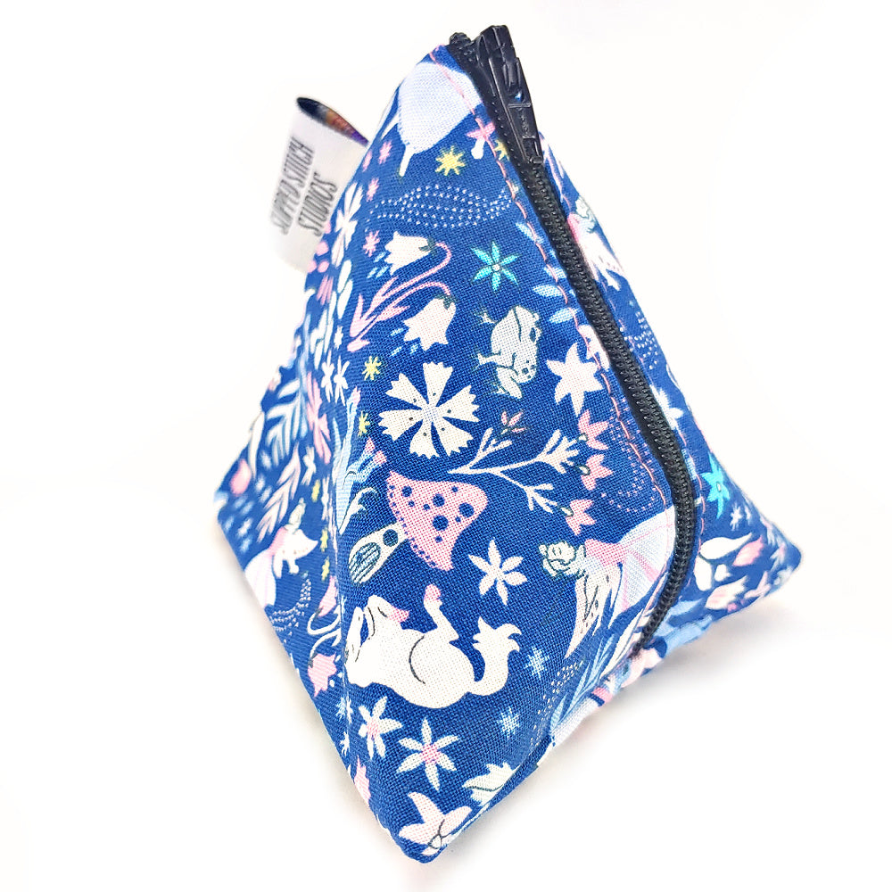Enchanted Forest </br> Triangle Zipper Notion Pouch