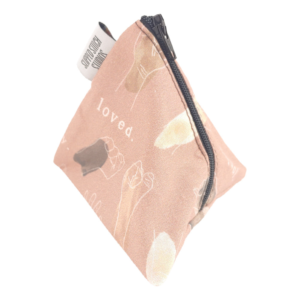 In It Together </br> Triangle Zipper Notion Pouch