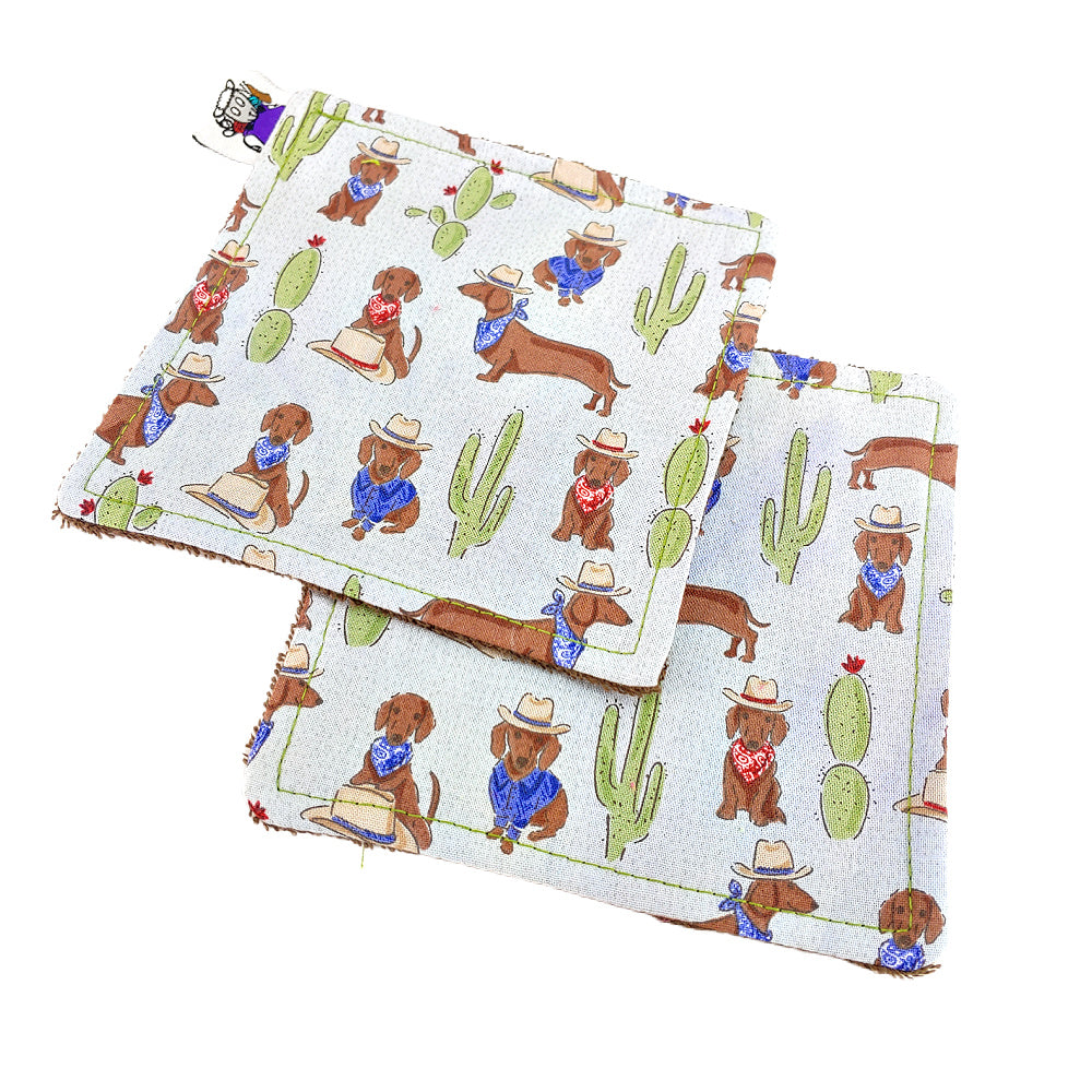 Get a-long lil' doggie  - Victory Rags (Towelette) - Pack of 2 or 4