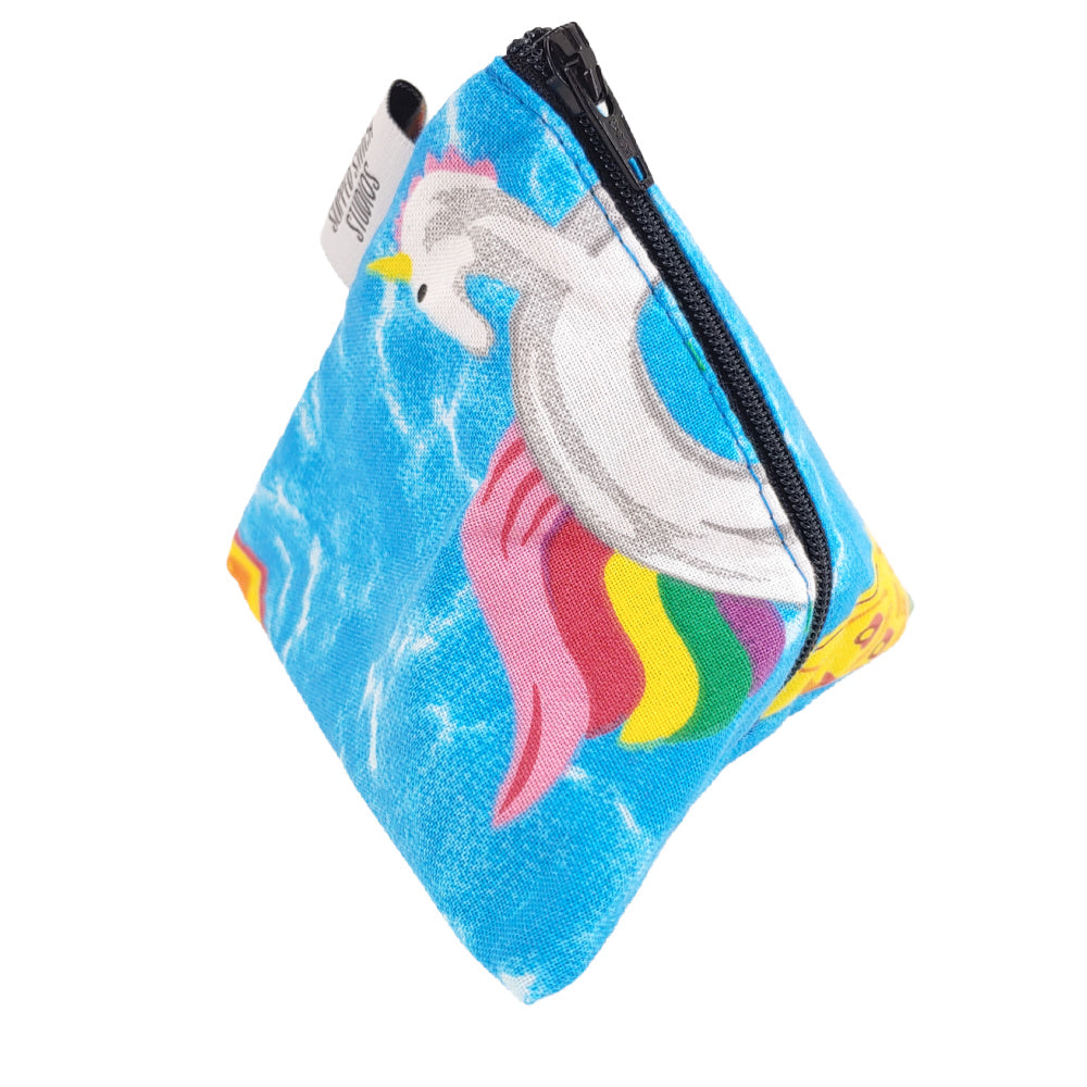 Puerto Backyarda </br> Triangle Zipper Notion Pouch