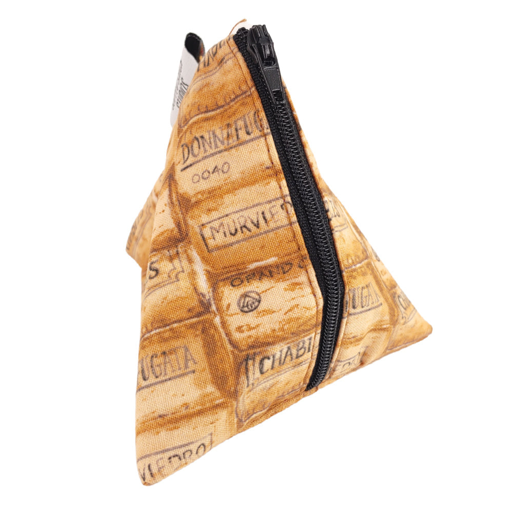 Day Drinking </br> Triangle Zipper Notion Pouch
