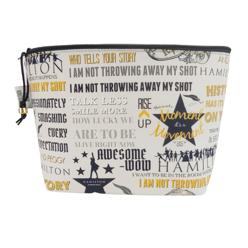 Hamilton the Musical </br> Zipper Notion Pouch