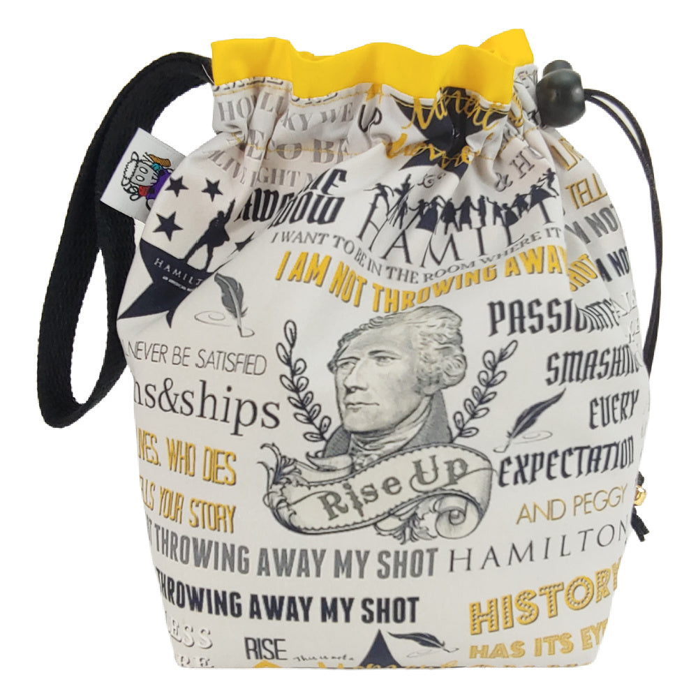 Hamilton the Musical </br> Small Project Bag