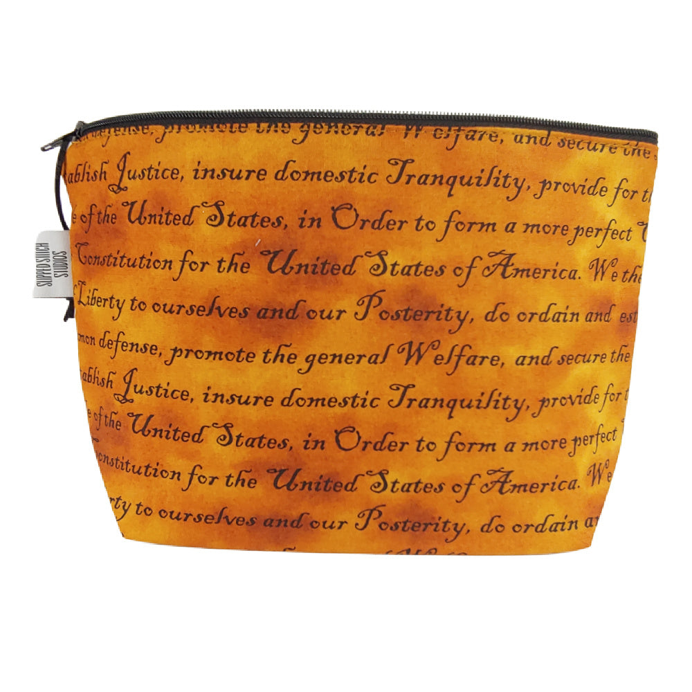 Constitution </br> Zipper Notion Pouch