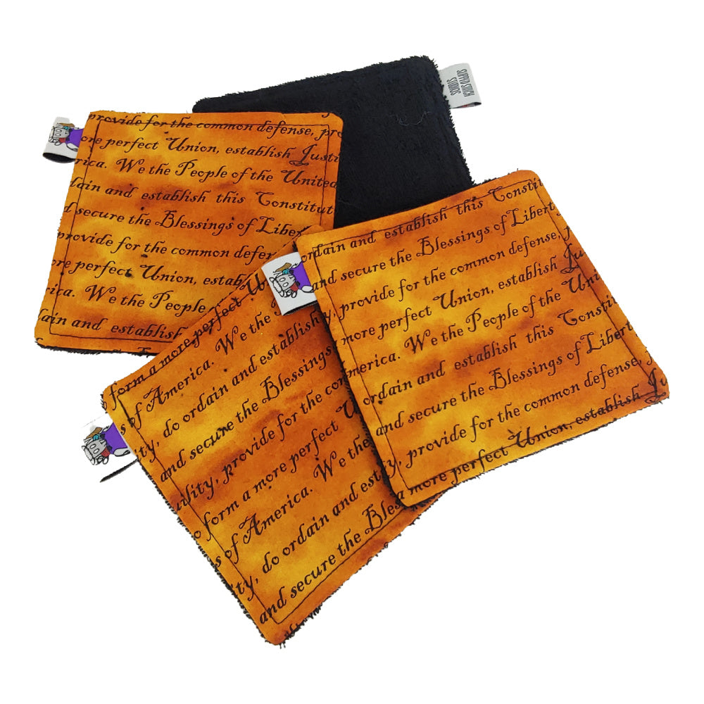"Constitution - Victory Rags (Towelette, 5"" x 5"") - Pack of 2 or 4"