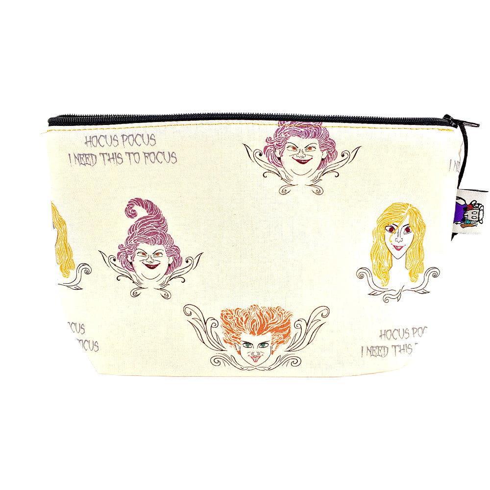 Sanderson Sisters </br> Zipper Notion Pouch