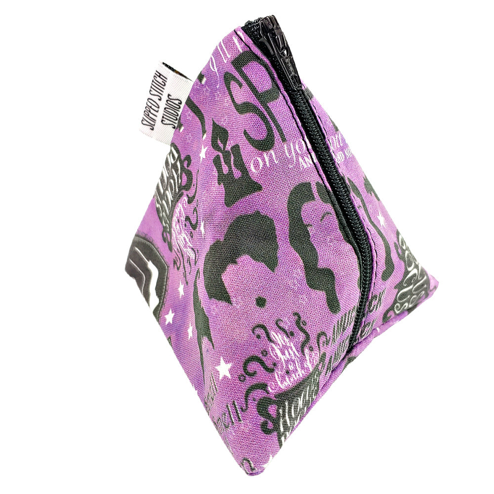 Hocus Pocus </br> Triangle Zipper Notion Pouch