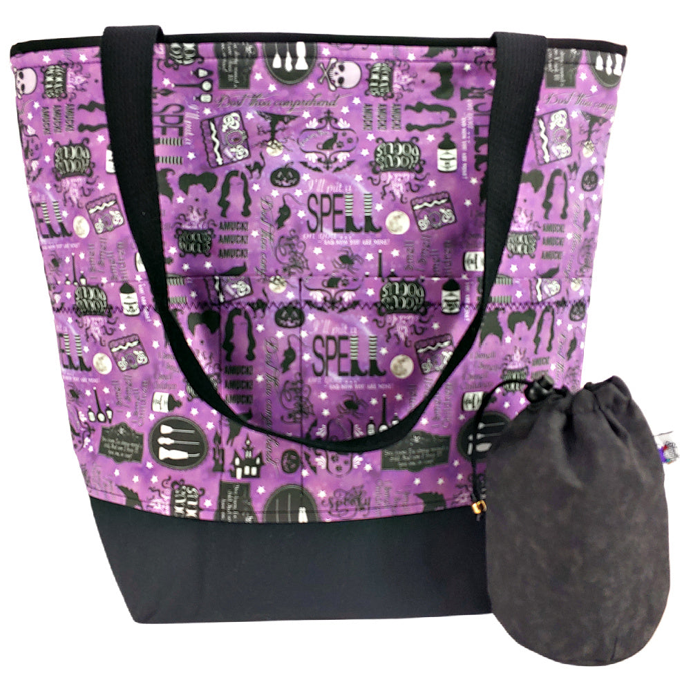 Hocus Pocus </br> XL Project Bag </br> Studio Tote & Tot