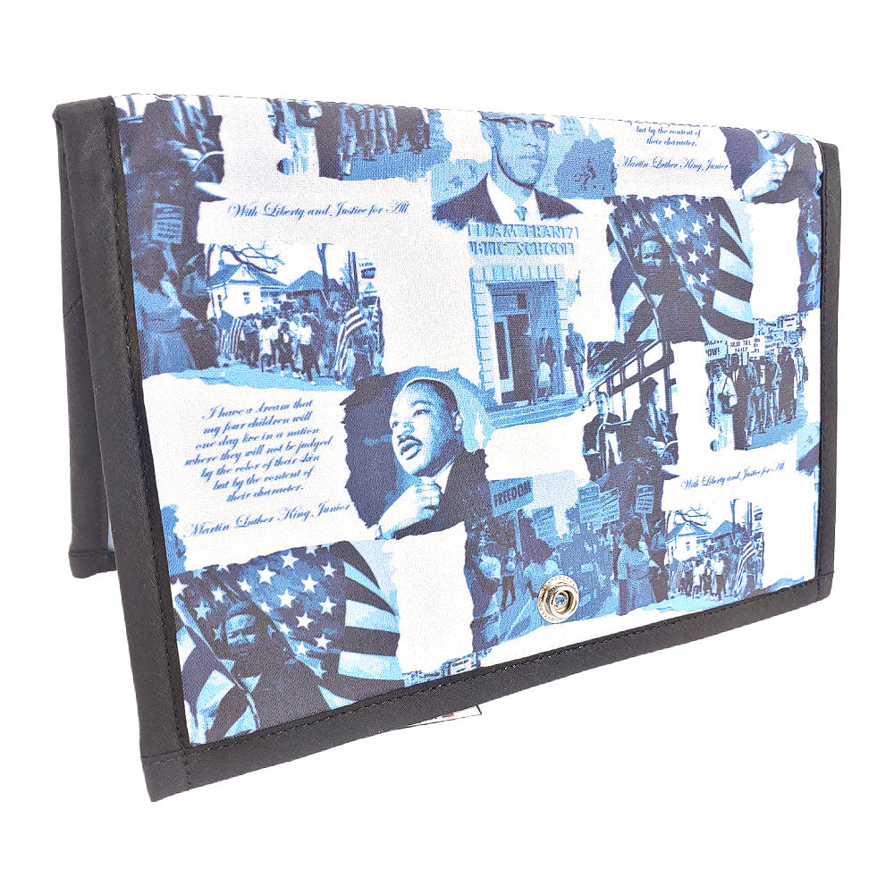 Civil Rights </br> Pattern Holder & Stand </br> Knit & Crochet Pattern Organizer