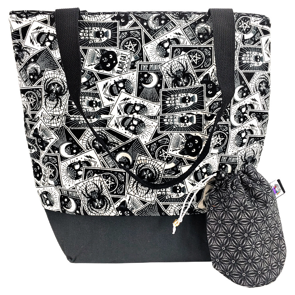 Tarot Tarot (Flannel) </br> XL Project Bag </br> Studio Tote & Tot