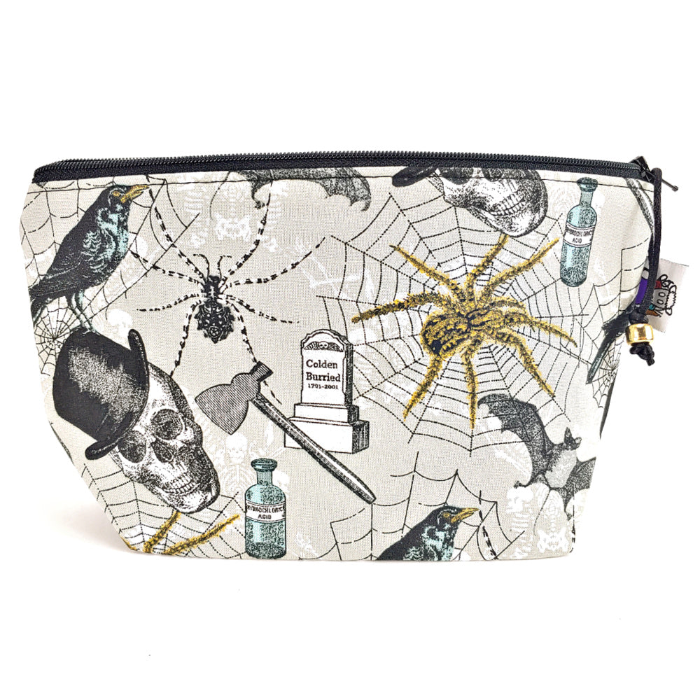 Dapper Goth </br> Zipper Notion Pouch