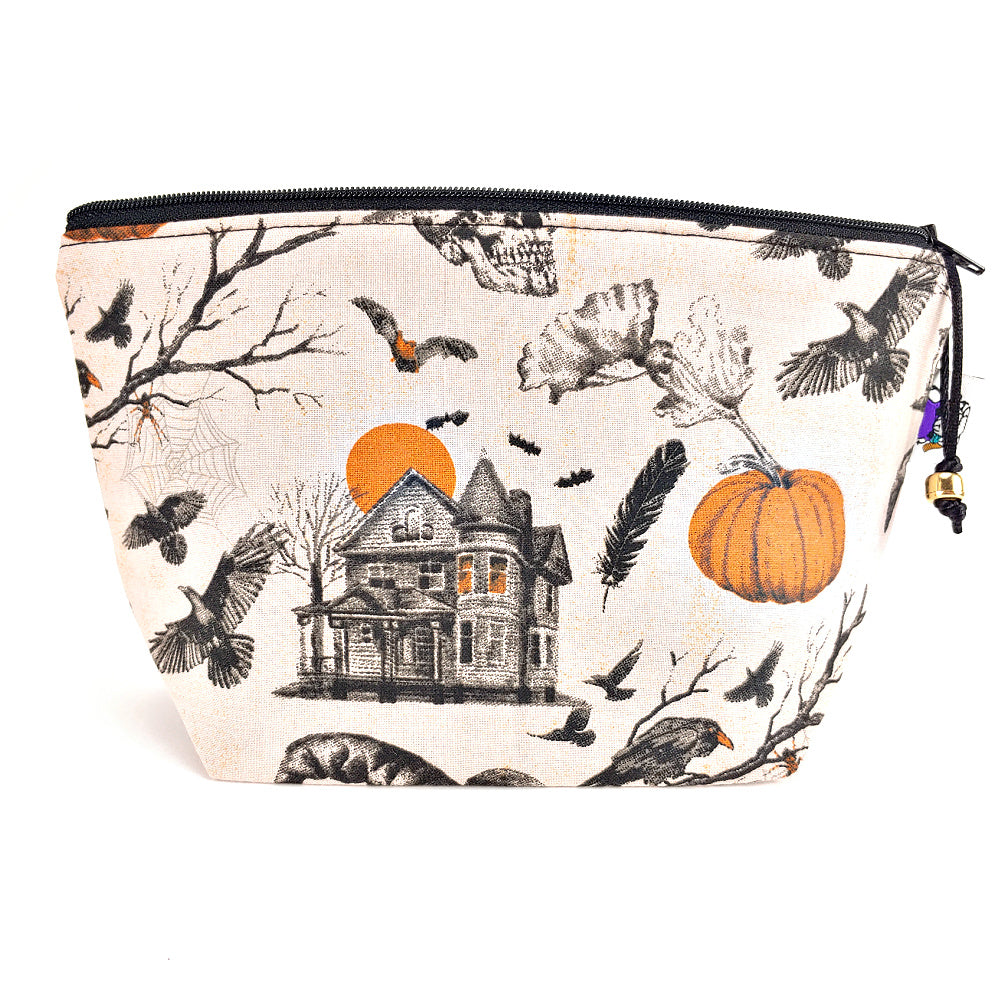 Haunted House </br> Zipper Notion Pouch