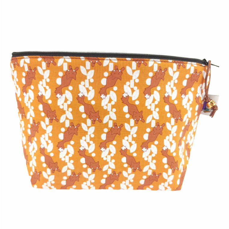 Feelin' Foxy </br> Zipper Notion Pouch