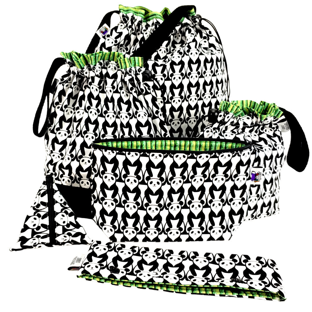 Panda Panda </br> Large Project Bag