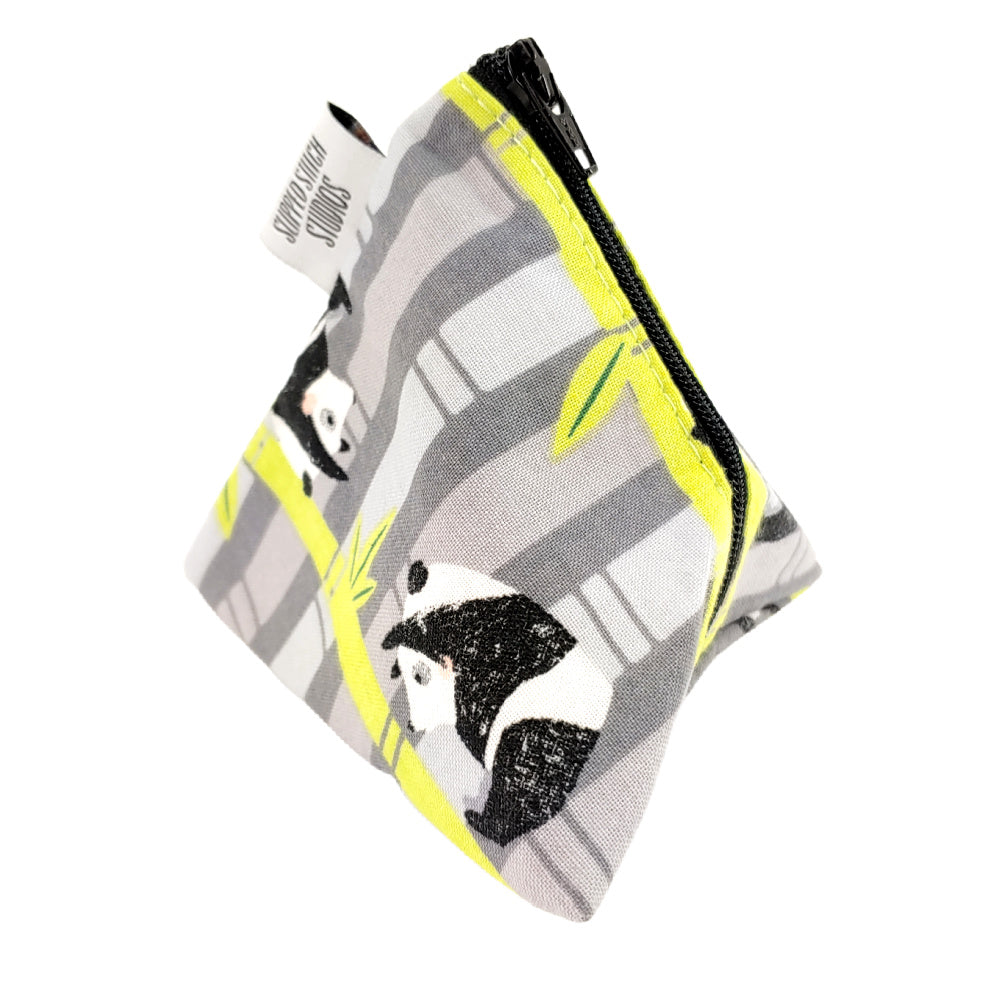 Panda-Kong </br> Triangle Zipper Notion Pouch