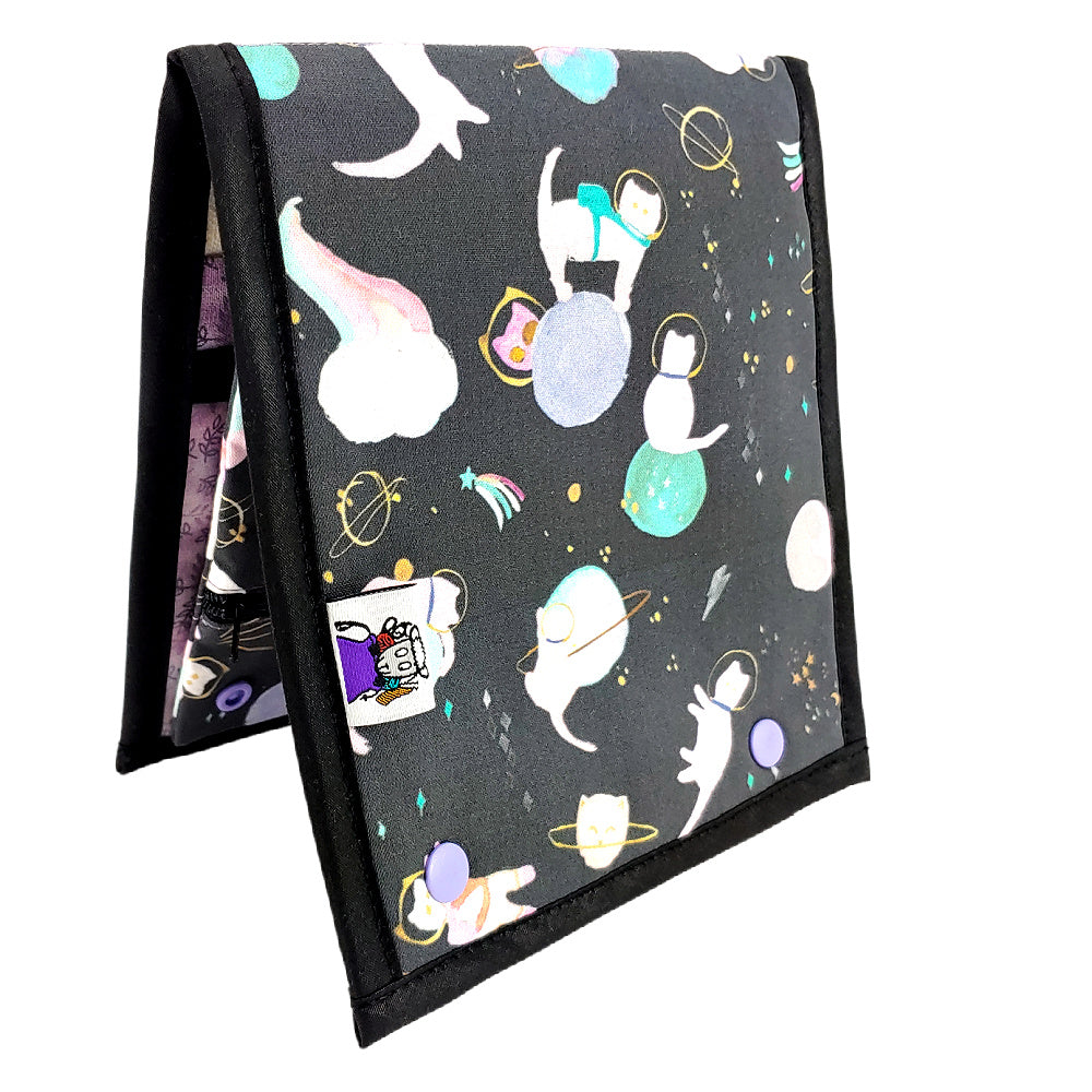 Cats in Space </br> Needle & Hook Organizer