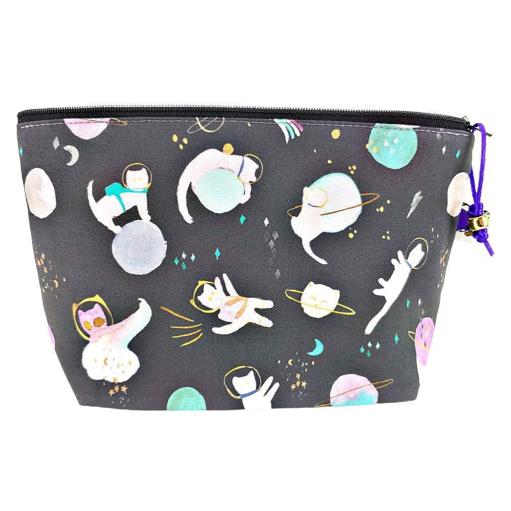Cats in Space </br> Zipper Notion Pouch