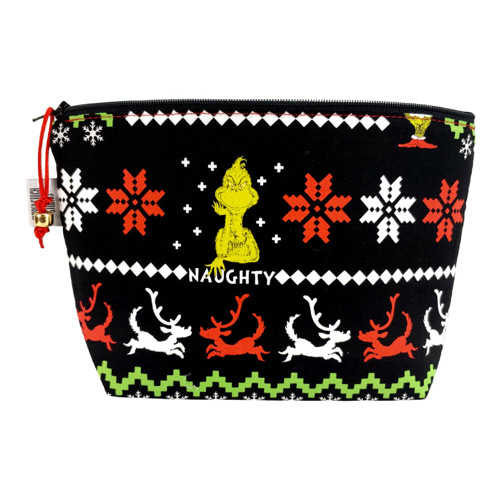 Merry Grinchmas! </br> Zipper Notion Pouch