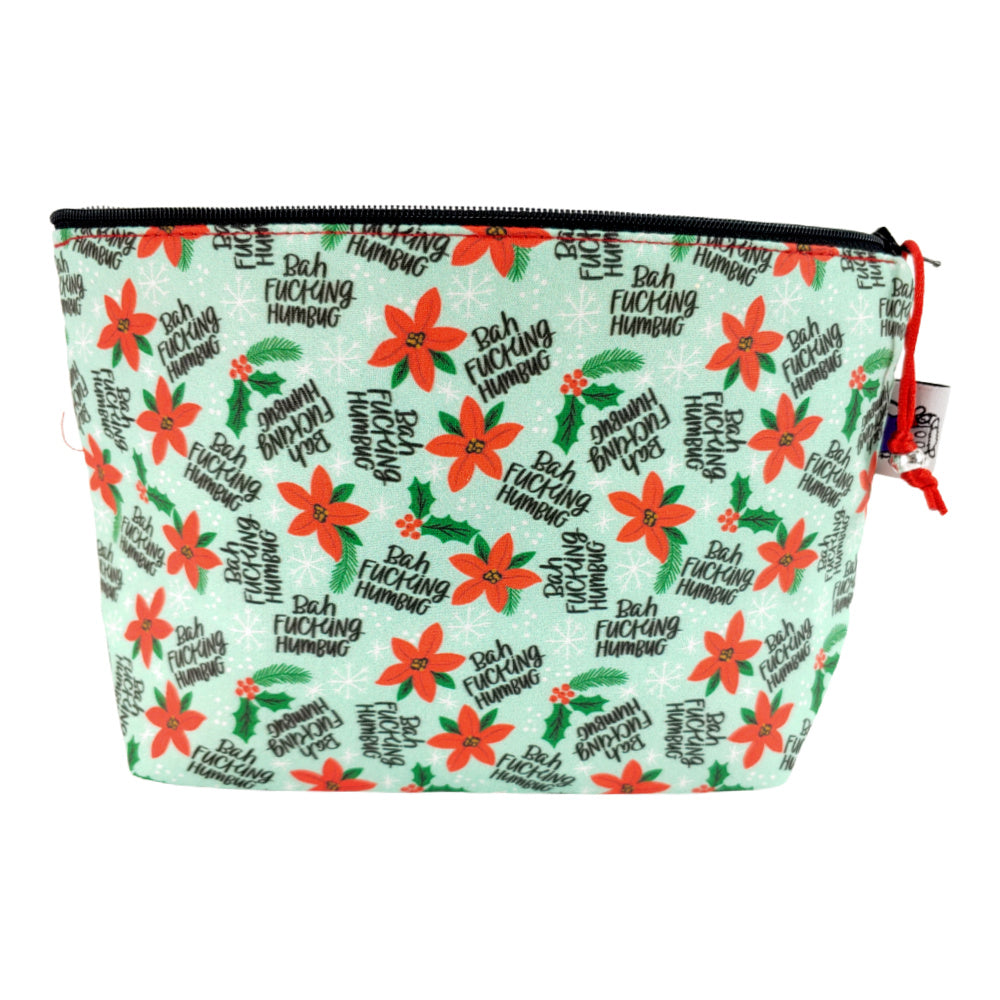 Bah F*ing Humbug </br> Zipper Notion Pouch