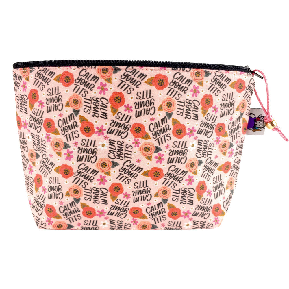 Calm Your Tits </br> Zipper Notion Pouch