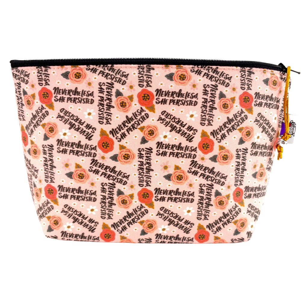 Nevertheless She Persisted </br> Zipper Notion Pouch