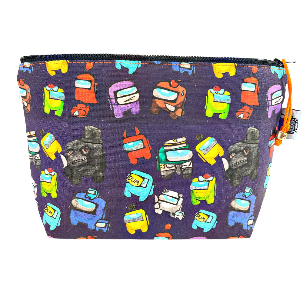 Among Us </br> Zipper Notion Pouch