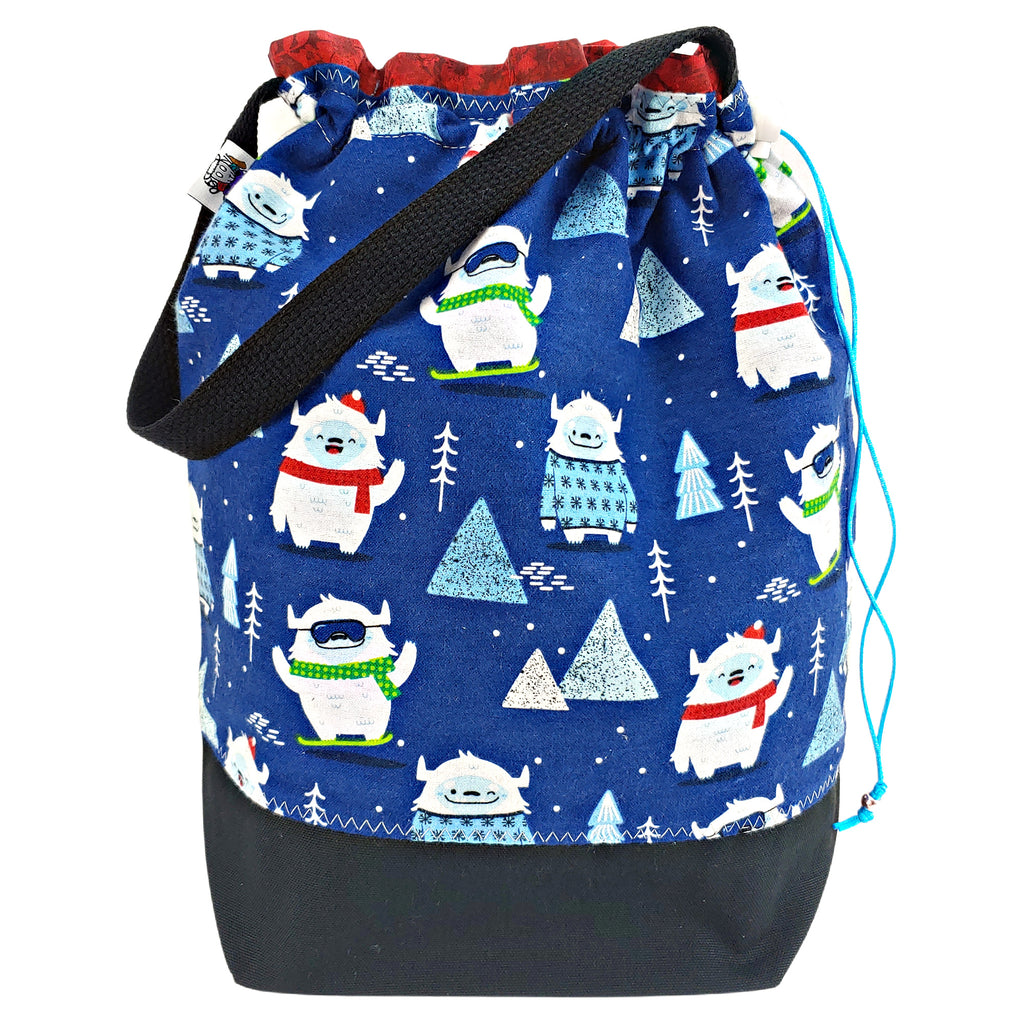 New Year, New Yeti (Flannel) </br> Large Project Bag