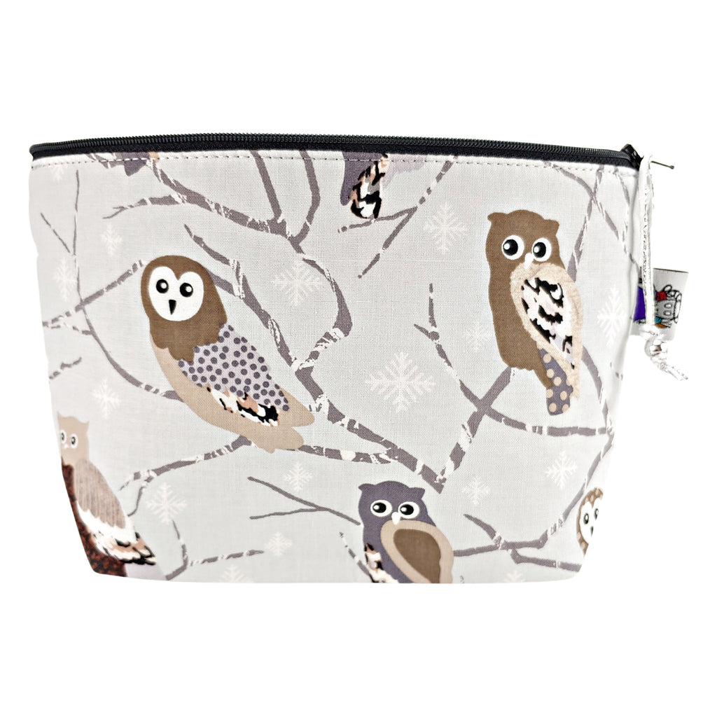 Winter Owls </br> Zipper Notion Pouch