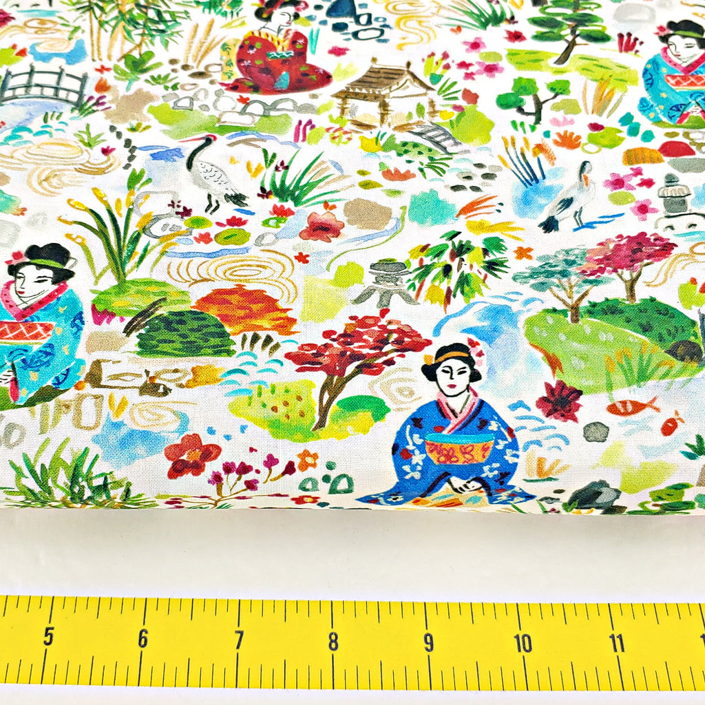 Kyoto Garden </br> Designer Fabric - By the Yard