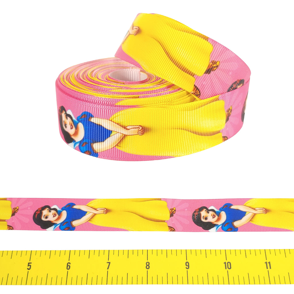 "Snow White </br> Grosgrain - 1""- Ribbon by the Yard"