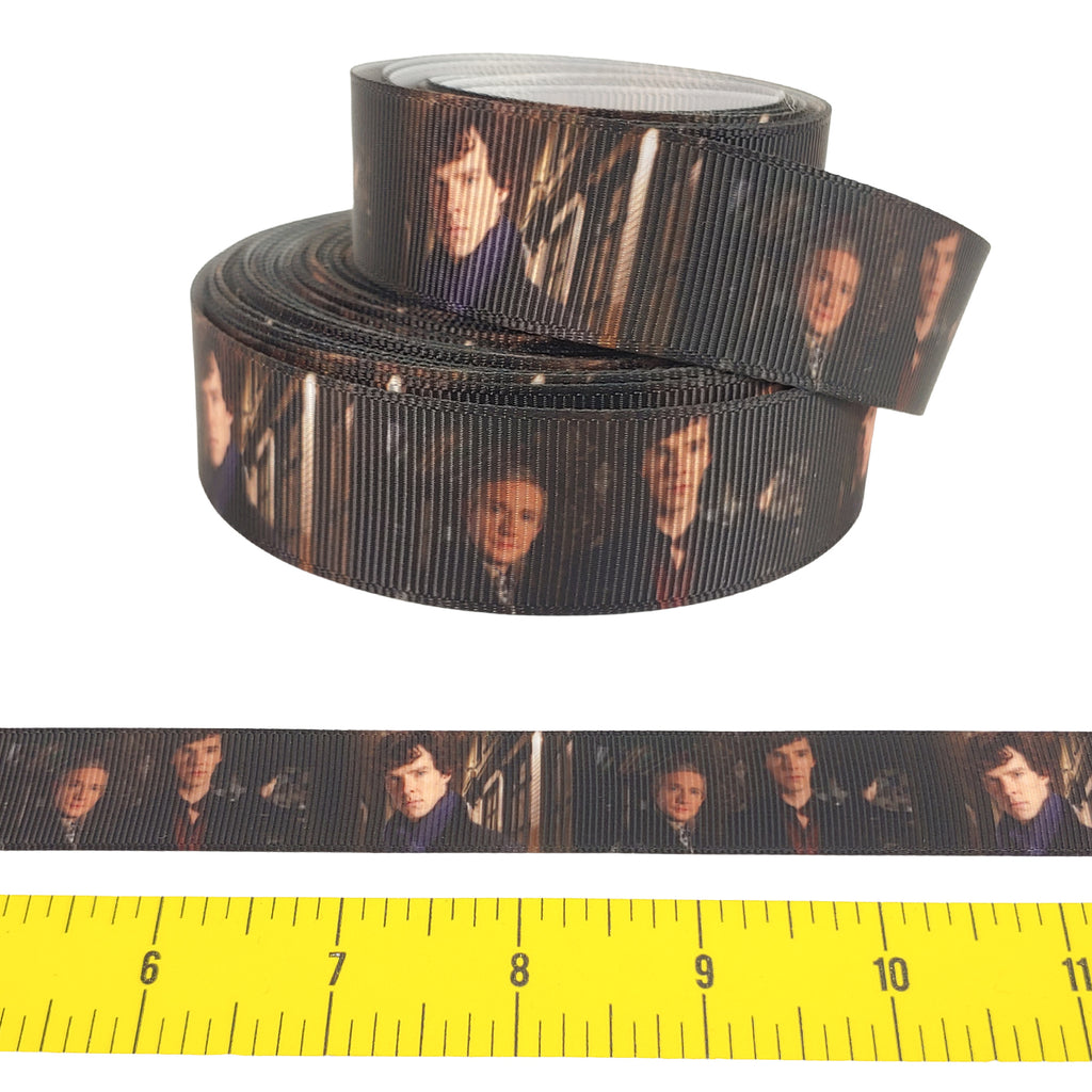 "Sherlock </br> Grosgrain - 7/8""- Ribbon by the Yard"