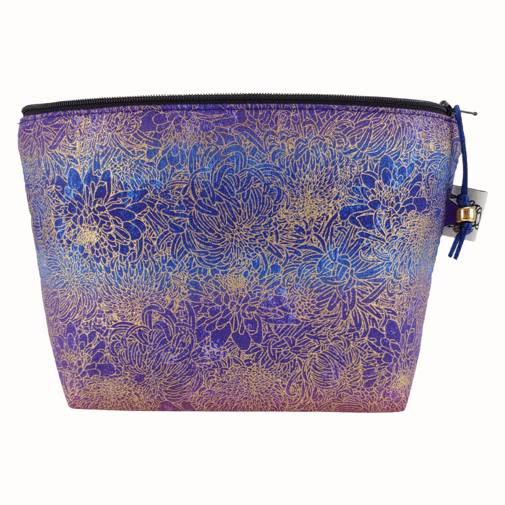 Floral Nebula </br> Zipper Notion Pouch