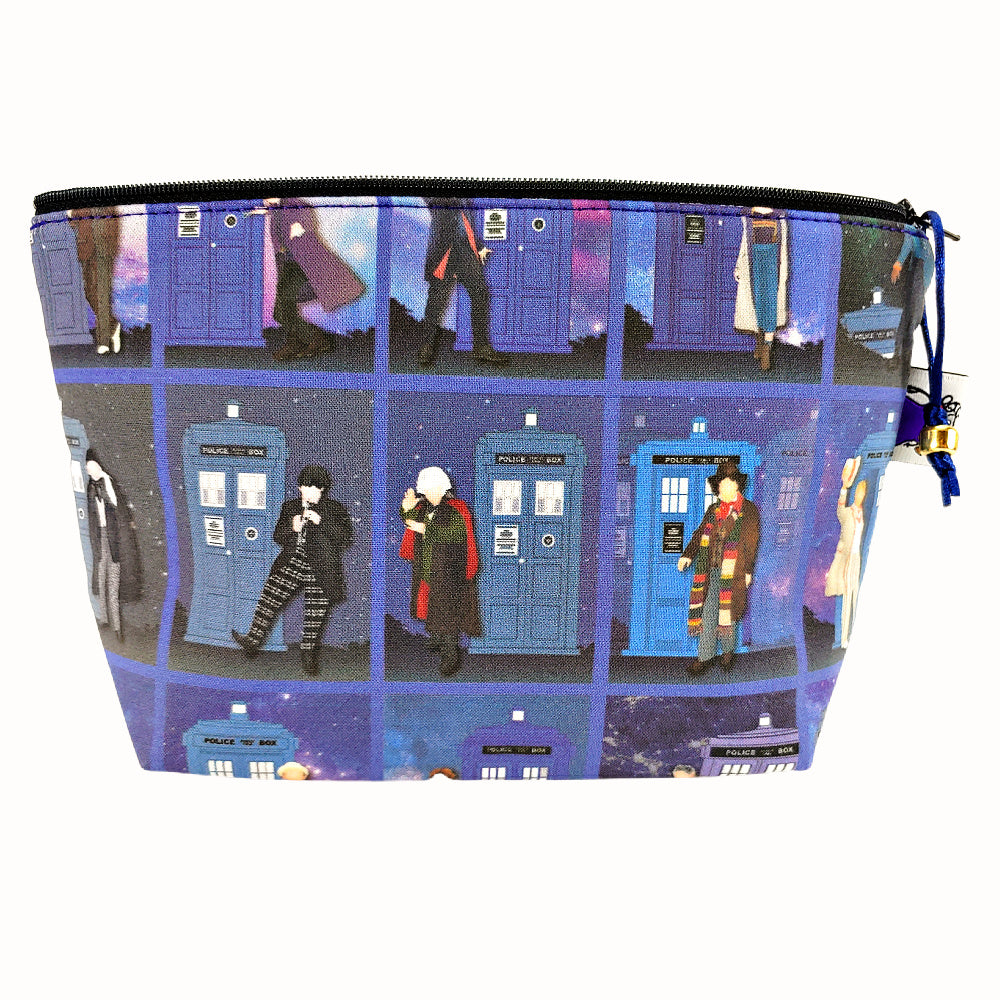 Doctor Who Generations </br> Zipper Notion Pouch