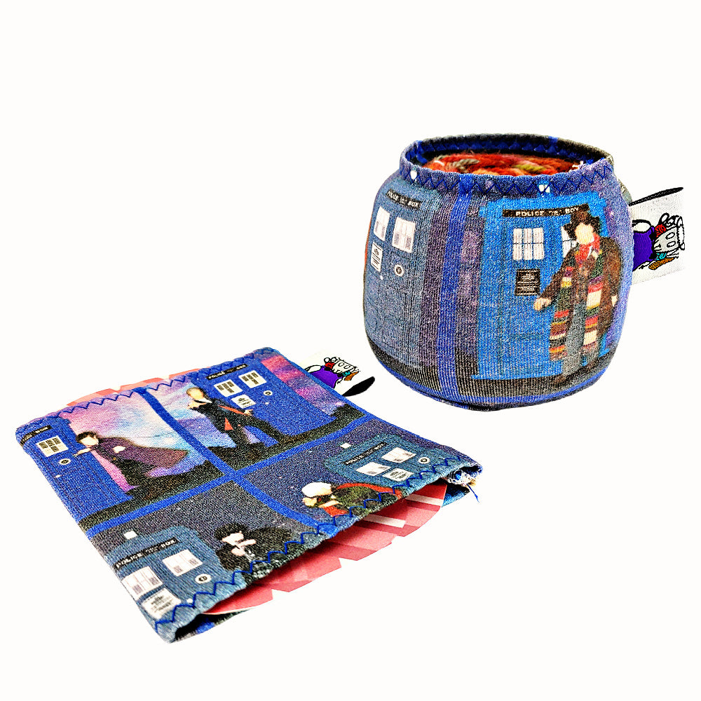 Doctor Who Generations </br> Yarn Sock