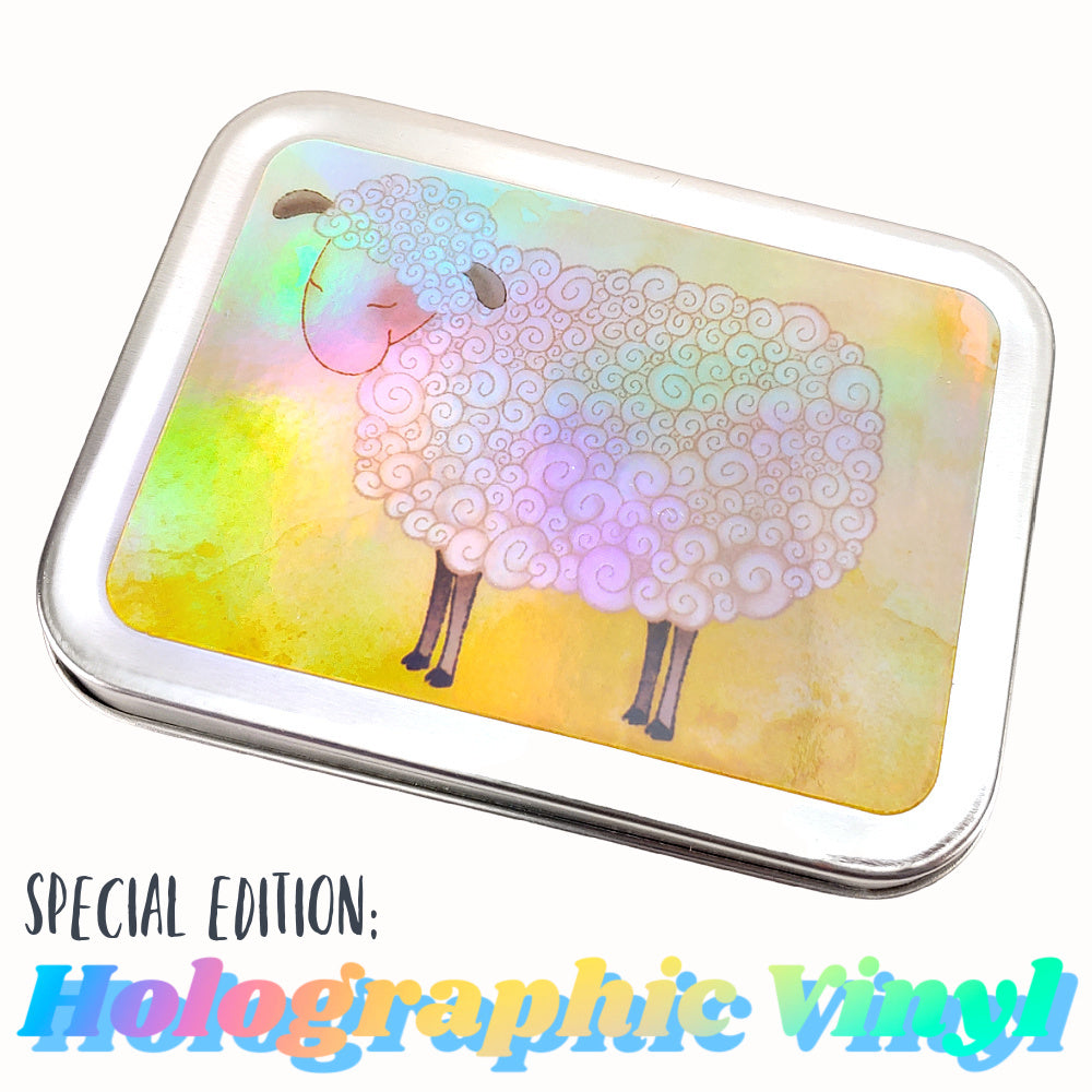 Shiny Sheep - Special Edition Holographic Vinyl </br> Crafter's Tool Box (Empty)