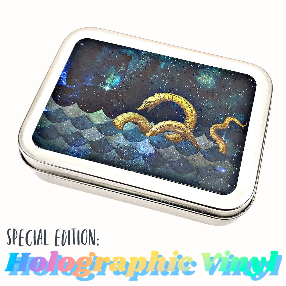 Steampunk Sea Serpent - Special Edition Holographic Vinyl </br> Crafter's Tool Box (Empty)