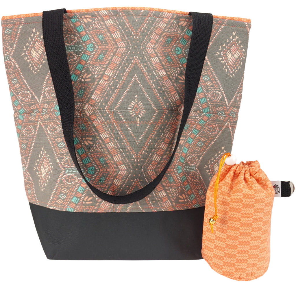 Diamond Sunset </br> XL Project Bag </br> Studio Tote & Tot