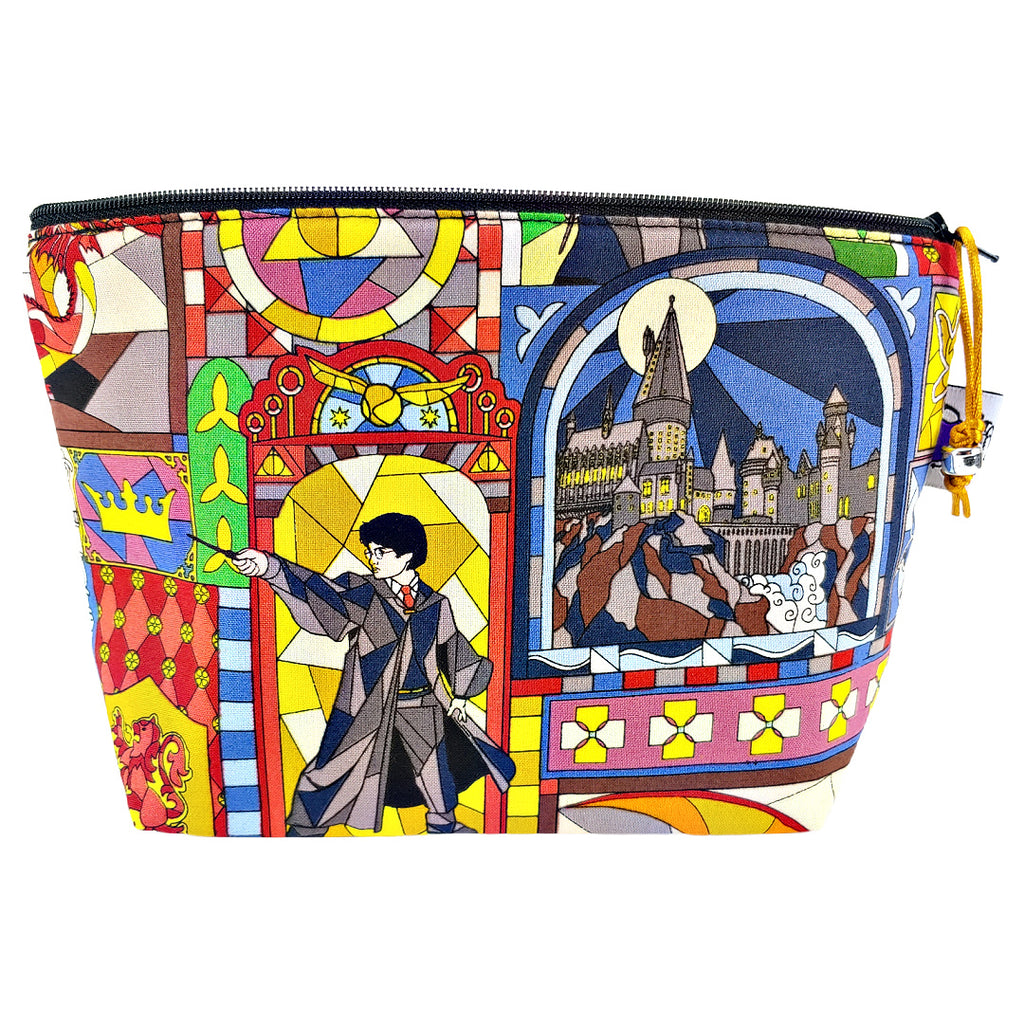 Potter Stained Glass </br> Zipper Notion Pouch