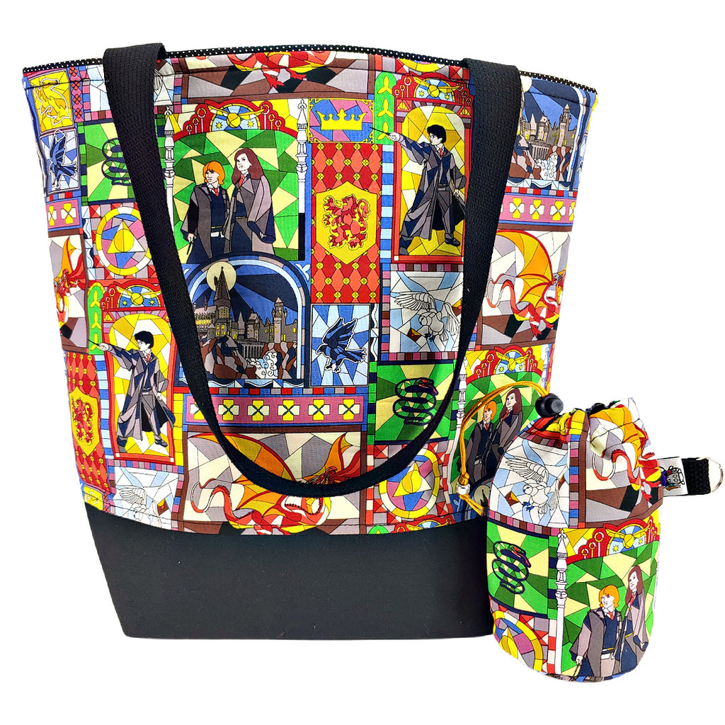 Potter Stained Glass </br> XL Project Bag </br> Studio Tote & Tot