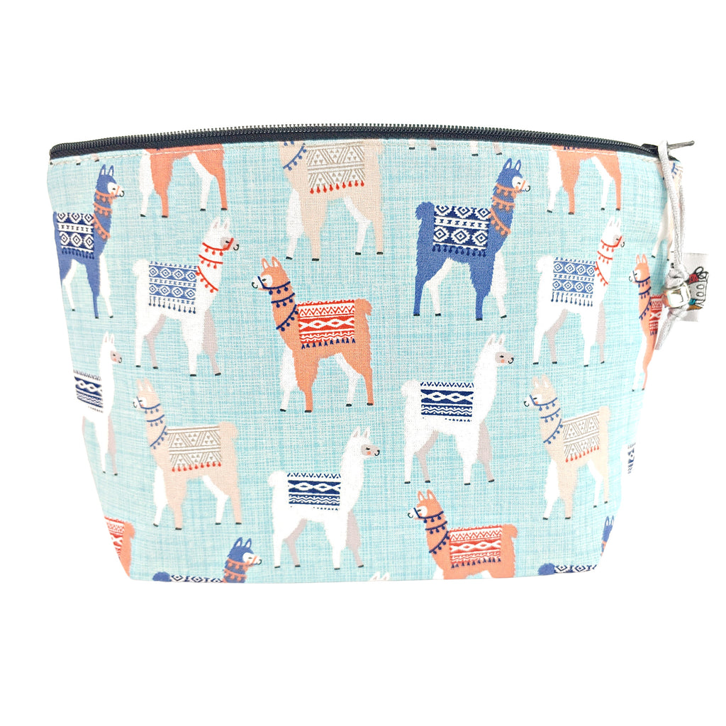 Llama Llama </br> Zipper Notion Pouch