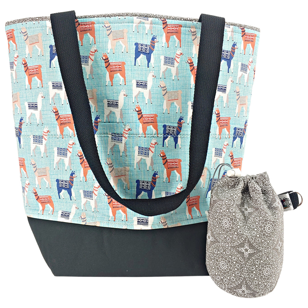 Llama Llama </br> XL Project Bag </br> Studio Tote & Tot